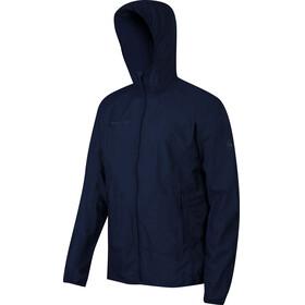 Mammut M's Crag WB Hooded Jacket marine melange
